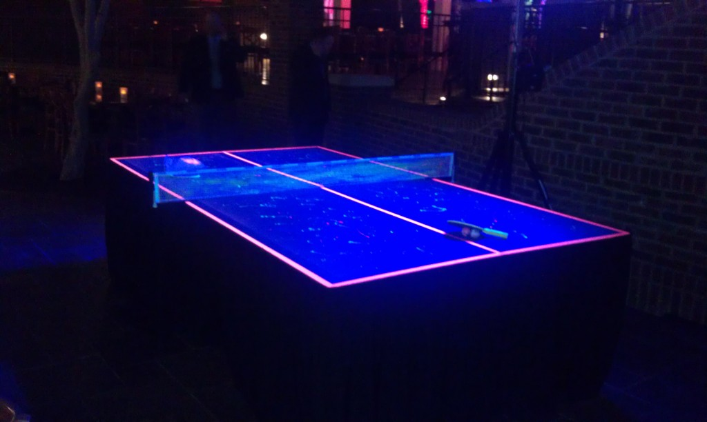Very Cool Black Light Ping Pong Table! | DIY Projects To Try | Pinterest |  Ping Pong Table, Game Rooms And Backyard
